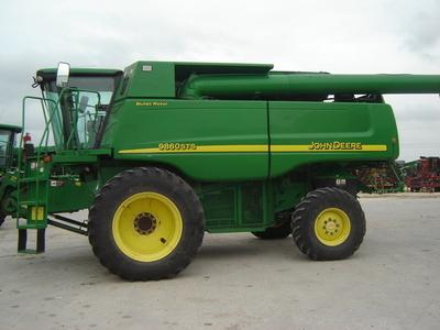 2007 deere 9860 sts combine taft tx machinery pete