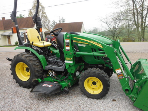 2009 john deere 2320 tractor gardnersville ky. Black Bedroom Furniture Sets. Home Design Ideas