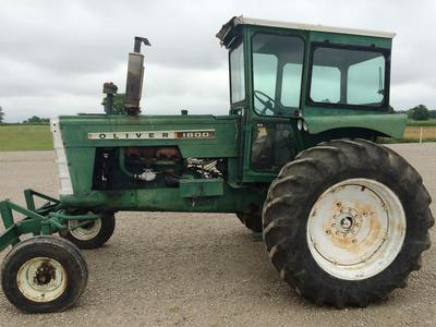1963 oliver 1800 tractor harrisonville mo machinery pete
